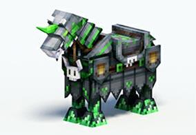 《奶块》坐骑亡灵军马(绿)获取方法 亡灵军马(绿)食物