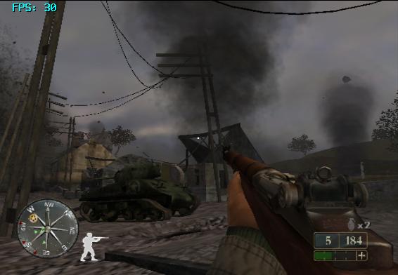 GC《使命召唤2:红一纵队》秘籍输入和使用方法 使命召唤2:红一纵队(Call of Duty 2: Big Red One)作弊代码大全