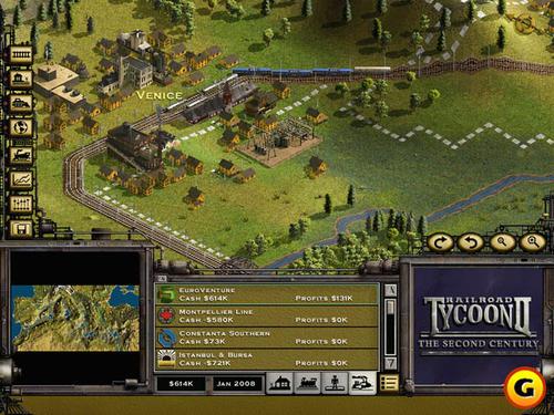 《铁路大亨2:白金版》秘籍输入和使用方法 铁路大亨2:白金版(Railroad Tycoon 2: Platinum Edition)作弊代码大全