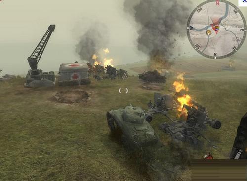 《装甲精英:荣誉战场》秘籍输入和使用方法 装甲精英:荣誉战场(Panzer Elite Action: Fields of Glory)作弊代码大全