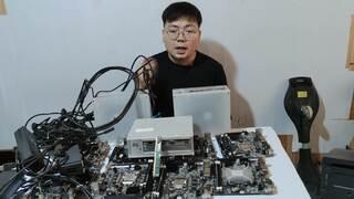 《地下城与勇士(DNF)》小伙DNF搬砖失败,3000元买的10套电脑,一个星期就放弃了(视频)