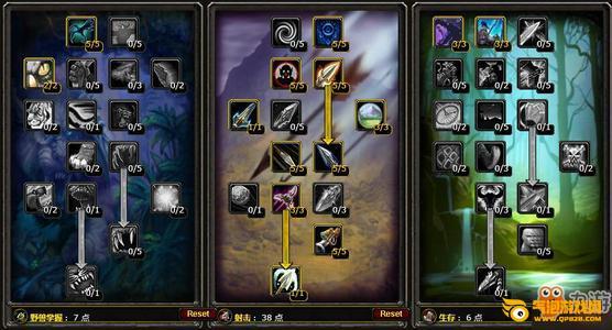 《魔兽世界怀旧服猎人》lr天赋加点 魔兽世界怀旧服猎人天赋加点推荐