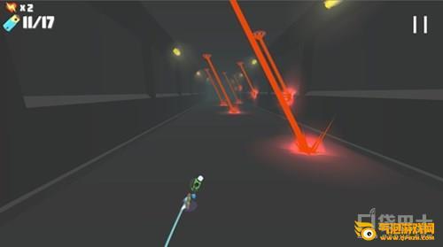 《动力盘旋》反引力滑板 跑酷新游《动力盘旋》曝光 用反重力滑板穿梭未来世界