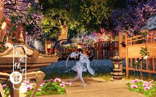 《天涯明月刀手游(天刀)》【无偿免费】伪•精灵之我是一只住在森林巨树上的小精灵VQ双区零氪天涯明月刀手游家园图纸设计(视频)