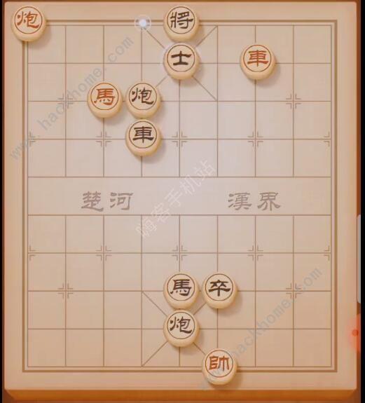 《天天象棋》残局挑战168期怎么过_残局挑战168期流程攻略