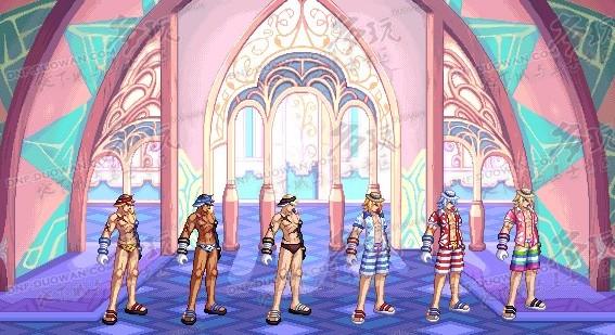 DNF2012夏日礼包图片 海之勇者3套装效果全职业图片