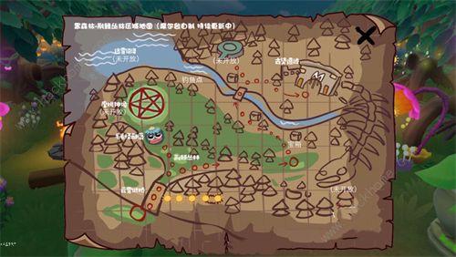 《摩尔庄园》黑森林隐藏地图在哪_黑森林隐藏地图卡bug进入方法