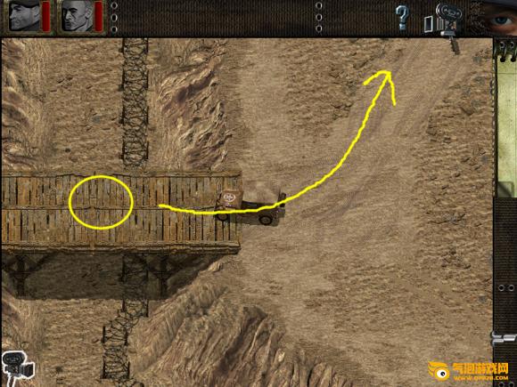 盟军敢死队1深入敌后【第8关:烈焰冲天】图文攻略