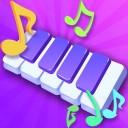 节奏弹钢琴