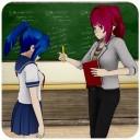 动漫女孩高中老师iOS
