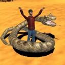 模拟沙漠巨蟒