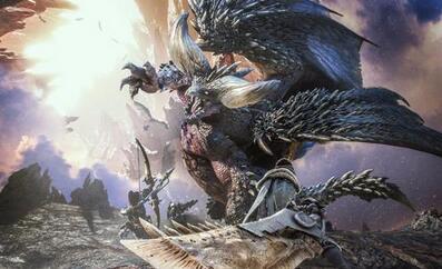 《怪物猎人》【绘图】 火芽 amp;水艺