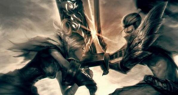 《LOL英雄联盟》【情报】驱动骑士-法洛士部分美术图