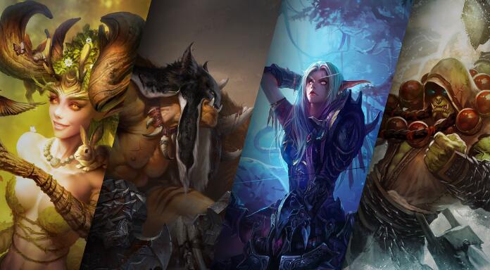 《魔兽世界WOW》购买180天游戏时间,将海量《炉石传说》好礼与更多精彩收入囊中!